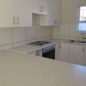 Newly reburbished kitchens in our retirement cottages